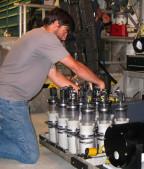 ROV pilot Bryan Shaefer