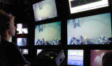 MBARI intern Wilson Sauthoff in control room
