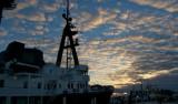 The Lone Ranger alongside the dock in Freeport, Bahamas. Photo: Debbie Nail Meyer