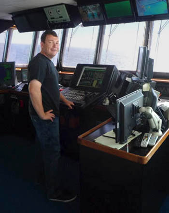This was Andrew McKee's first cruise as captain. Thanks to Andrew and congratulations on a successful first cruise!