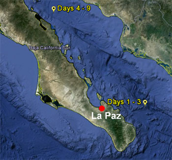 Deep-sea chemistry research sites.