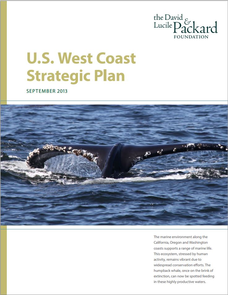 U.S. West Coast Strategic Plan