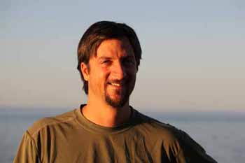 ROV pilot and technician Bryan Schaefer.