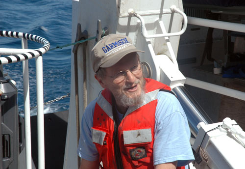 Curt Collins, a truly inspired and inspiring oceanographer.