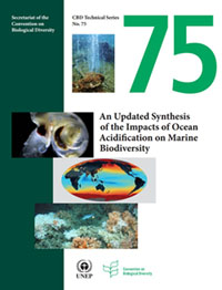 Ocean acidification report cover