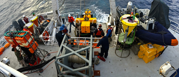 Deploying the Benthic Rover