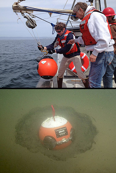 A benthic event detector