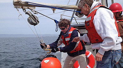 Deploying a benthic event detector in Monterey Bay