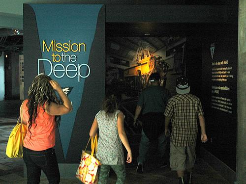 Mission to the Deep exhibit at Monterey Bay Aquarium
