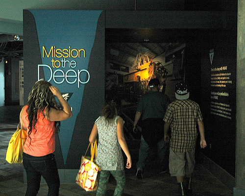 Mission to the Deep exhibit at Monterey Bay Aquarium