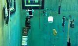pH probes in MBARI test tank