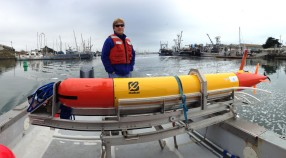 The Long Range AUV Makai with 3G ESP On Board