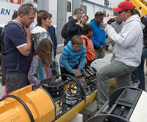 An autonomous underwater vehicle