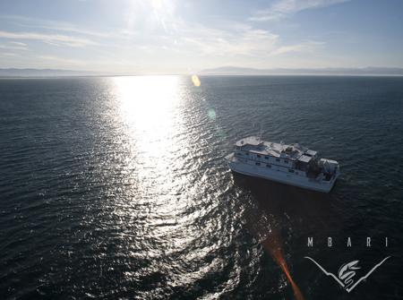 R/V<em>Western Flyer</em> at sea