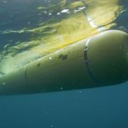 MBARI's mapping AUV underwater