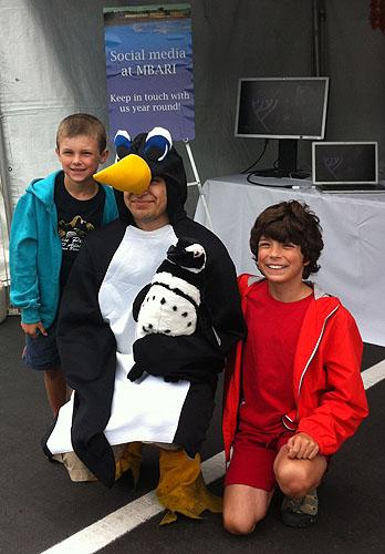 Intern as penguin