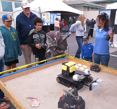 A robotic rover