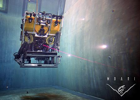 ROV <em>Doc Ricketts</em> in the test tank