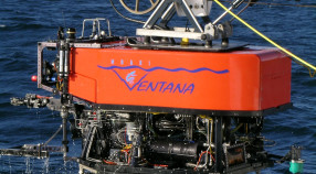 Launching the ROV Ventana