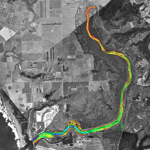 Elkhorn Slough Bathymetry