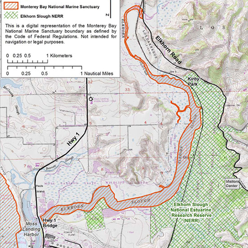 Elkhorn Slough Map