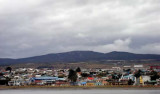 The colorful view of Punta Arenas greeted the science teams back to land. Photo by Amanda Kahn.
