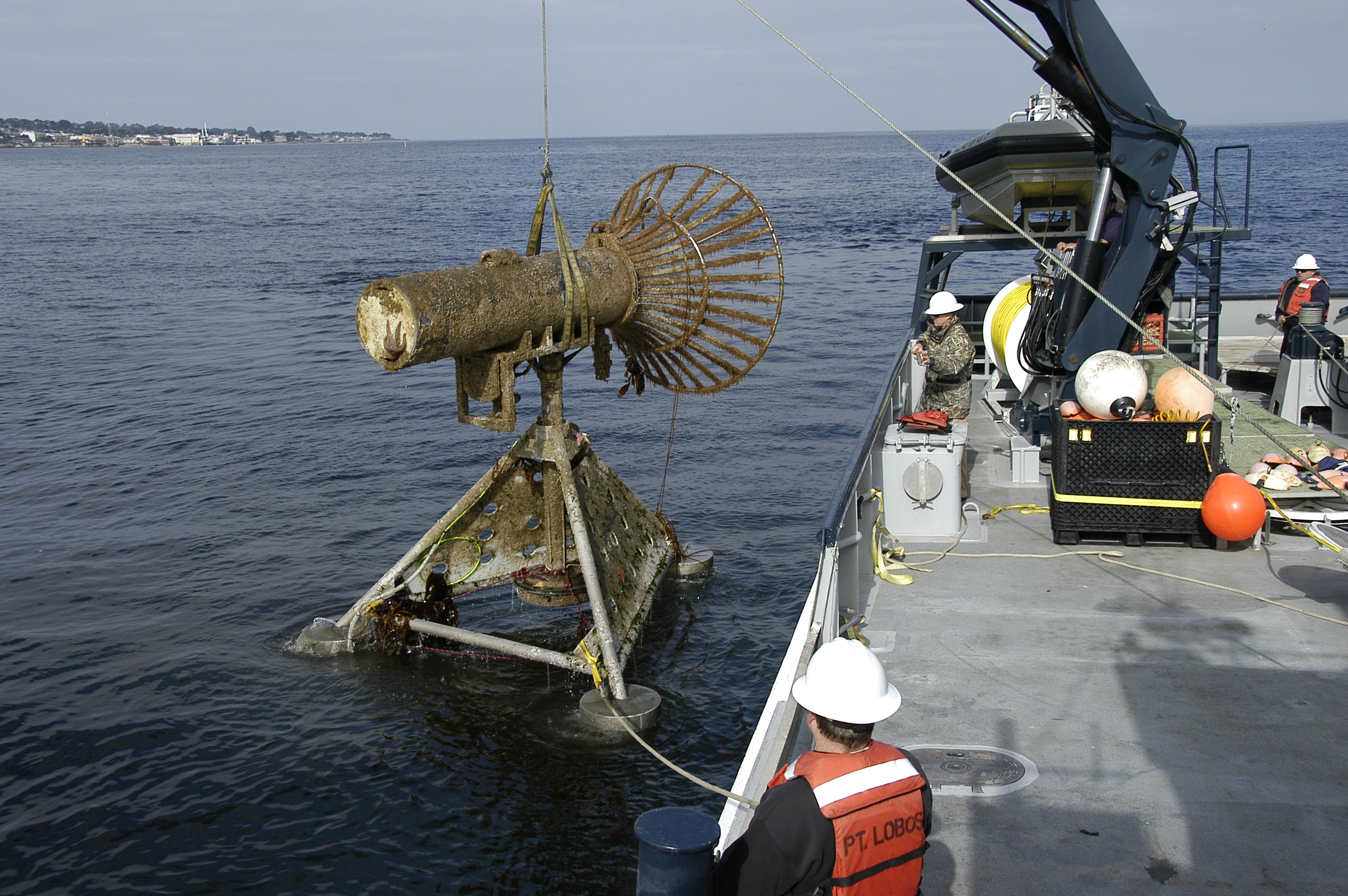 auv docking station recovery from deployment