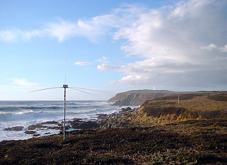 A CeNCOOS ocean-current monitoring station on the Central California coast.