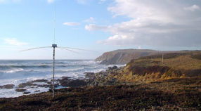 CeNCOOS ocean-current monitoring station on the Central California coast.