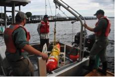 LRAUV aboard USGS vessel