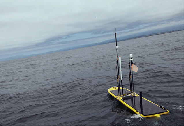 Wave Glider Based Communications Hotspot Mbari