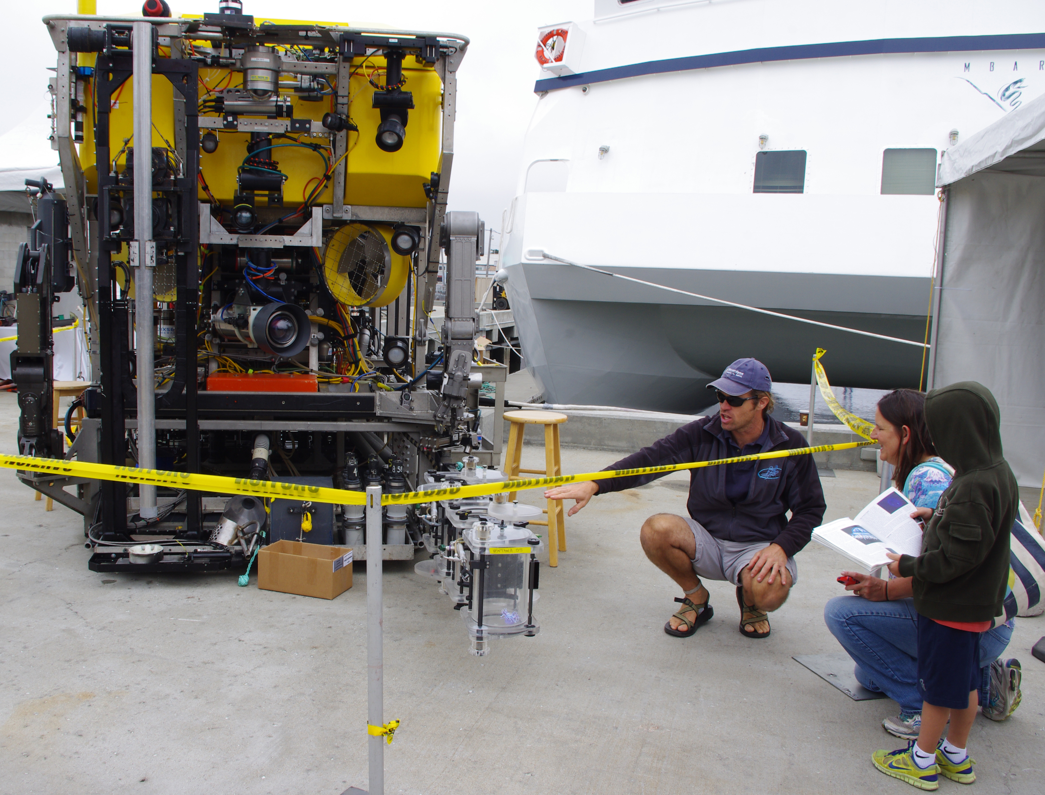 Learn about ROVs.
